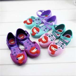 Ariel princess mermaid jelly shoe