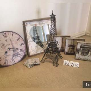 Paris Home Decor Set