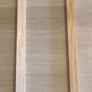 Wooden canvas frame