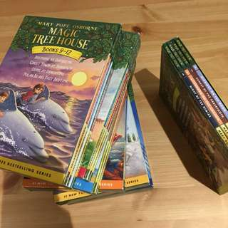 Magic Tree House full set- children story books
