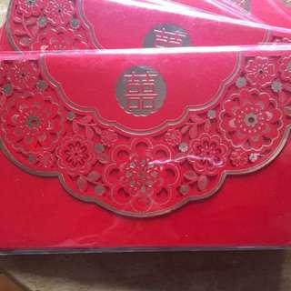 Wedding red envelope 結婚紅信封(14pcs)