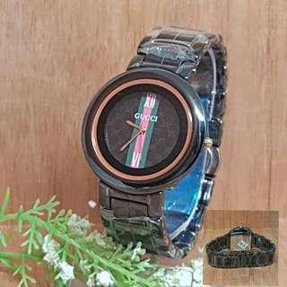 Jam tangan Gucci keramik 4885 D.3,5