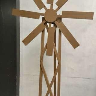 Windmill Barnyard Theme Party Props