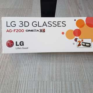 LG 3D Glasses (2s in a pack)