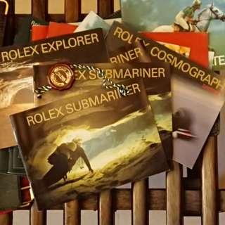 勞力士 Rolex Submariner 16610 14060M Booklet + Rolex Red Seal Tag New Old Stock