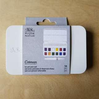 SALE Winsor & Newton Watercolour Brush Pen Set
