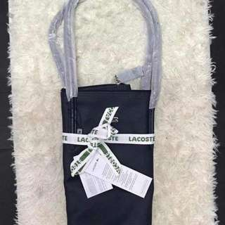 AUTHENTIC lacoste bag with paperbag