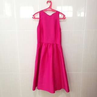 KATE SPADE Pink Bow Back Dress