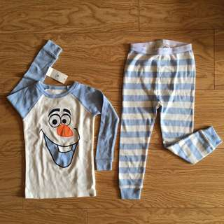 Frozen Olaf Pyjamas Long Sleeve