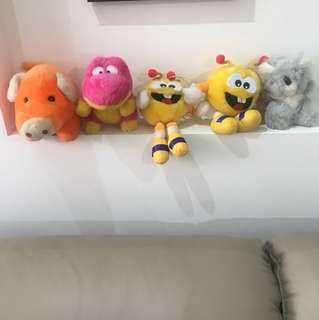 Brand new soft toys for sale