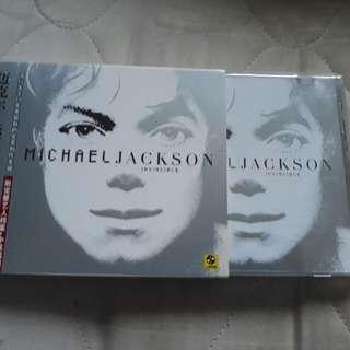 Michael Jackson Invincible Slipcase
