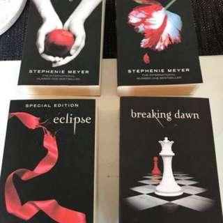 Twilight Saga Series
