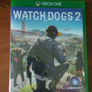 Watch Dogs2 Xbox One Game - As good as new