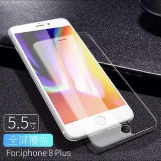 iPhone 8plus 防指模高清膜