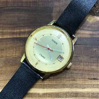 Sinkon Crystal Date Winding Vintage Watch