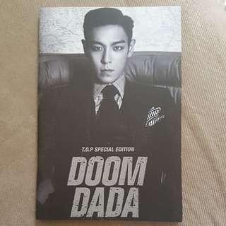 Bigbang TOP notebook