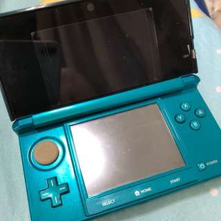 Old Nintendo 3DS japan set included 16gb