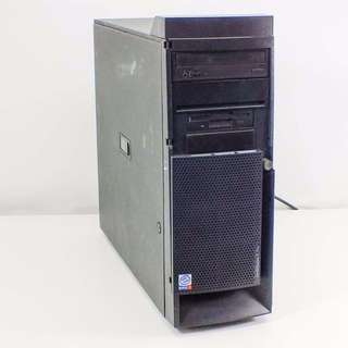 IBM Win7 P4 2GHz 512MB RAM 80G HDD DVDROM Gigabyte network business series tower workstation