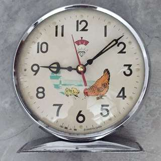 Diamond Vintage Chicken Clock