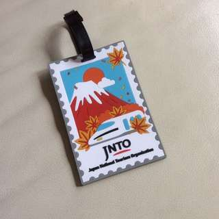 Travel Luggage Tag Jinto Authentic Japan Tourism Board Mount Fuji