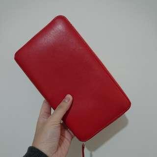 Carre Royal paris purses large wallet 銀包