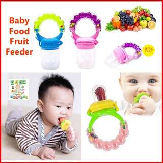Baby food fruit feeder