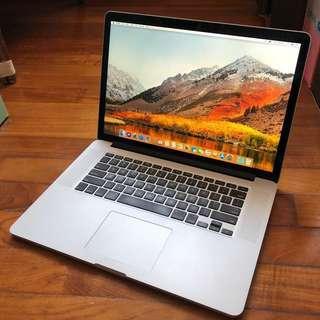 Retina MacBook Pro 15 Inch 2013