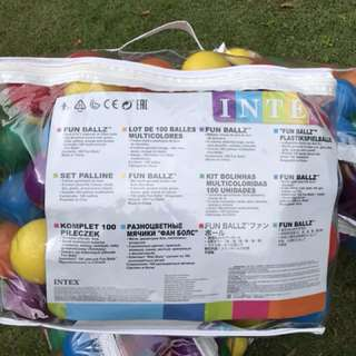 Plastic balls for ball pits (3 bags) - selling each