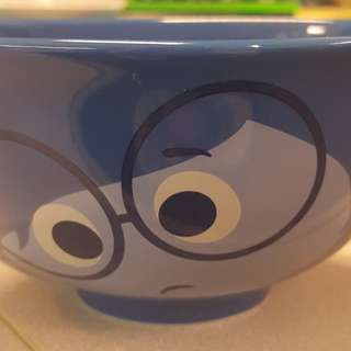 Pixar x 7-11 12款卡通大頭造型陶瓷碗 玩轉腦朋友 阿愁 反斗奇兵 三眼仔 閃電王麥坤 7 eleven