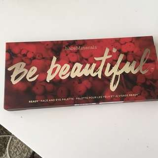 Bare Minerals Be Beautiful ( face and eye palette) LIMITED EDITION/BRAND NEW