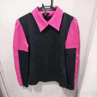 Pink and Black Lady Long Sleeves - FREE SHIPPING