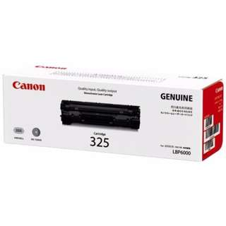 Canon 325 Black Original Cartridge