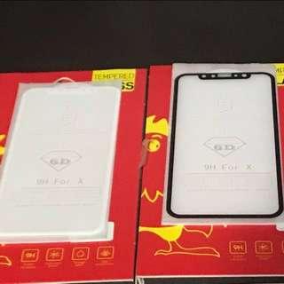 iphone X 弧邊 加強 全屏全粘著 鋼化玻璃保護貼