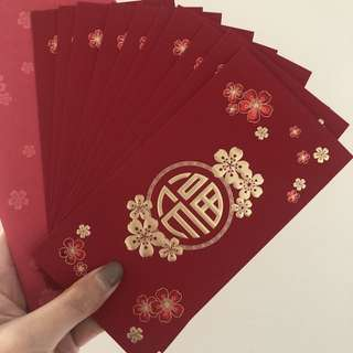 CNY Red Packet Angpow BNP Paribas Chinese New Year