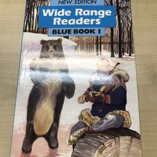 Wide Range Readers Blue book 1