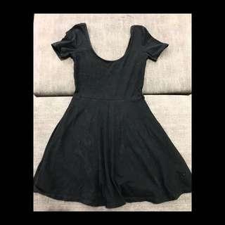 Forever 21 Overrun Black Dress