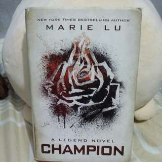 Champion by Marie Lu (Hard Bound)