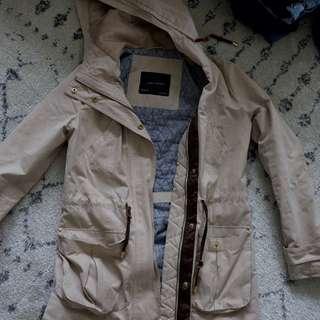 zara fall trench coat jacket