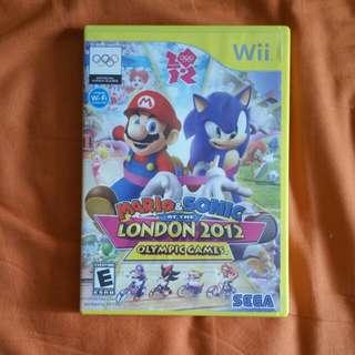 Wii Mario & Sonic London Olympic