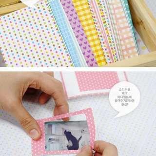 Polaroid Stickers
