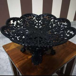 Black Dulang Tray for Gubahan Nikah (Solemnization)