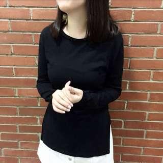 Cotton Ink Slit Shirt