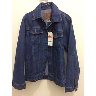 Levi's Dark Blue Denim Jacket