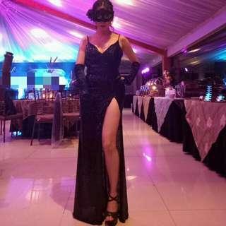 Elegant Evening Gown / Masquerade