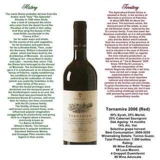 Sicily Red wine 2006 Tornamira