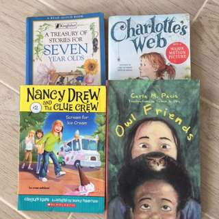 Children's book bundle (Nancy Drew)