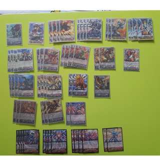 Cardfight Vanguard WTS English Kagero Deck