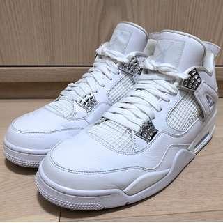 [Worn & No Box] Air Jordan 4 Retro Pure Money US12 IV US 12