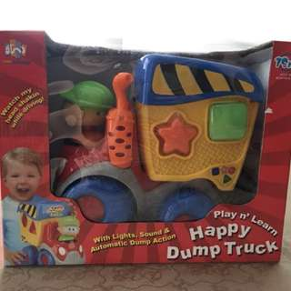 Play n' Learn Happy Dump Truck Shape Sorter