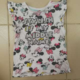 Minnie Mouse Girl Tshirt